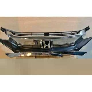 Honda Civic FC Original Chrome Grill