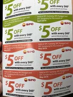🚚 Spc voucher for april may june $5 off