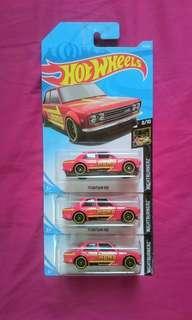 Hotwheels Datsun 510 MoMo 🔥 🔥 🔥