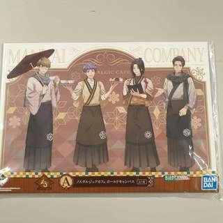 🚚 Ichiban Kuji - A3! Nostalgic Café Prize A Bold Canvas