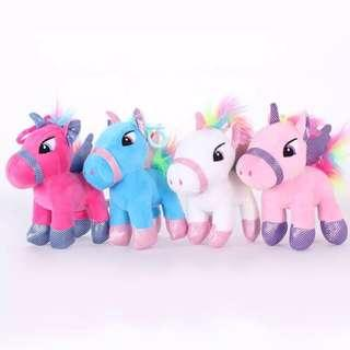 15CM Lovely Soft Unicorn Stuffed Doll Plush Toy Baby Birthday Gift