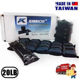 KAMACHI 20磅 可加減 對裝沙包 (台灣製) 20LB Adjustable Sandbag (Made in Taiwan) 包順豐 Free SF express