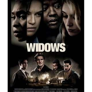 FREE BUAT KAMU!!! VCD Film WIDOWS #PrelovedWithLove