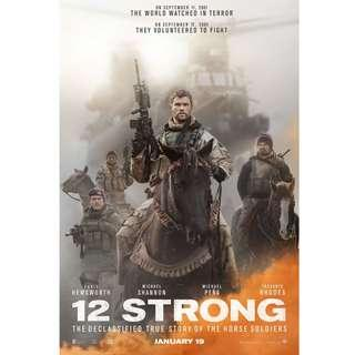 FREE BUAT KAMU!!! VCD Film 12 Strong #PrelovedWithLove
