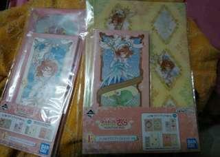 🚚 Ichiban Kuji - Cardcaptor Sakura: Clear Card - Twinkle Little Magic E Prize Small File And note pad Set