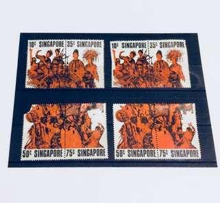 Old vintage stamps