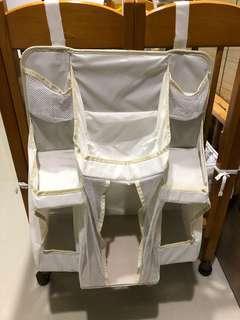 🚚 嬰兒床掛收納袋(裝尿布)