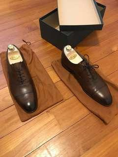 Edward Green Chelsea Oxfords Custom Made