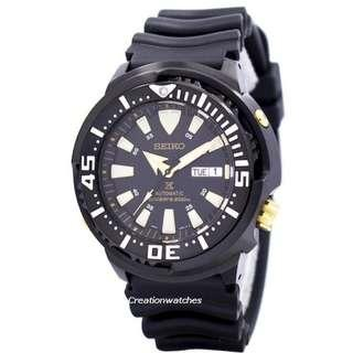 [CreationWatches] Seiko Prospex Baby Tuna Automatic Divers 200M SRP641K1 SRP641K SRP641 Mens Watch