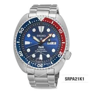 Seiko[APPLY 25% OFF COUPON] SEIKO Prospex PADI Diver Watch SRPA21K1. Free Shipping!