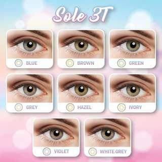 Softlens Sole 3 Tone