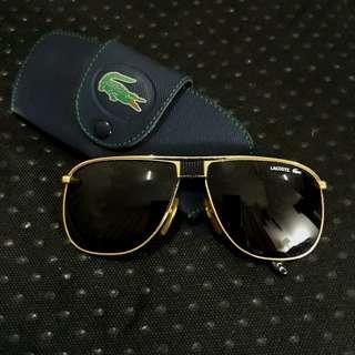 Lacoste aviator unisex sunglasses with box