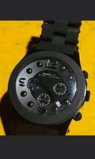 Marc jacobs men's watch 42mm rantai masih utuh (with replacement box)
