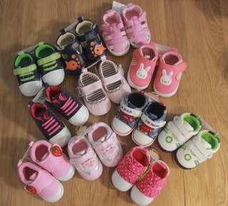12cm BB學步鞋