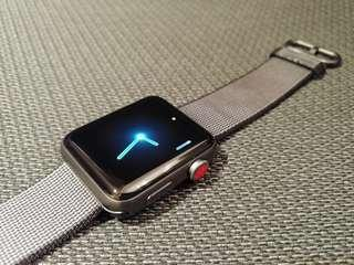 42mm Apple Watch 3 LTE (GPS+cellular) space grey aluminium #flashthurs