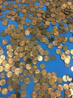 Malaysia 1 cent coins