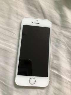 iPhone 5se silver