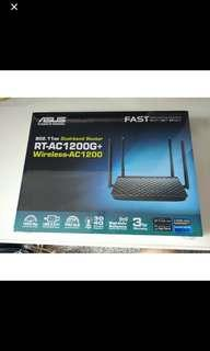 🚚 ASUS RT-AC1200G+ WIRELESS-AC1200 ROUTER