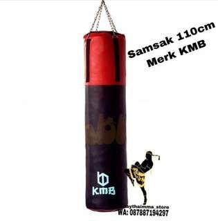 Sansak KMB 110cm Sansak berukuran 110 x 30cm - Sansak Murah - Samsak Muaythai Boxing MMA