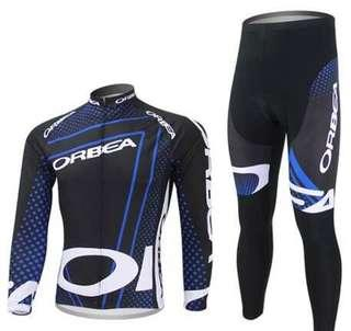 Orbea racing wearing set