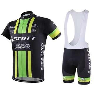 Scott racing wearing set
