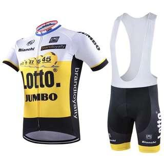 Lotto jumble racing wearing set
