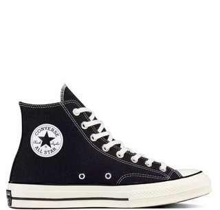 Converse 70s Black White
