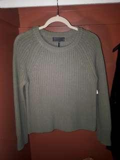 Rag & Bone Olive Knitted Sweater