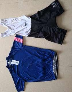 Rapha racing wearing set