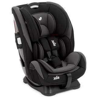 [Very good condition] Joie Curve Stages Car Seat C0925 (Maroon and Black Colour)