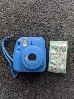 Instax mini Polaroid camera 18 photos