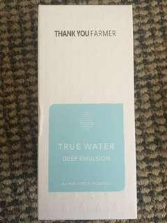 Thank You Farmer True Water Collection