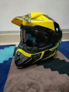 E-scooter or E-bike Full Face Helmet
