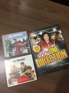 """One Direction - """"Up All Night"""" & """"Take Me Home"""" albums BONUS Majalah + Poster"""
