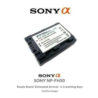 Sony NPFH50 H Series Actiforce Hybrid InfoLithium Battery for most Sony Camcorders and A230, A330 and A380 Alpha DSLR