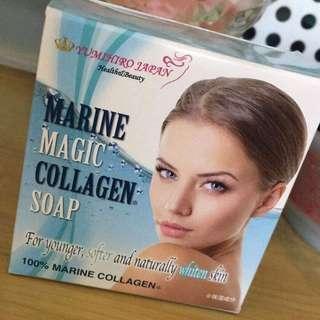 Collagen soap marine magic collagen