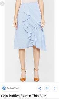 BN blue stripes skirts