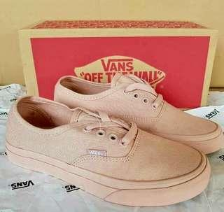 Vans authentic rose pink