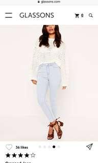 Glassons cropped jean