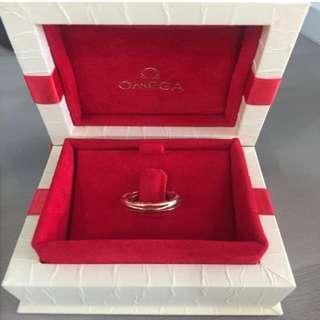 Omega Gold /Rose Gold Ring