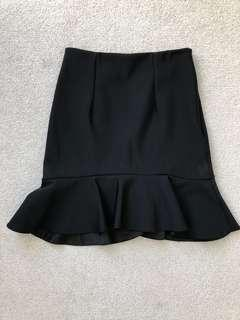 Kookai black skirt sz 36