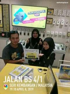 Customer kami happy happy