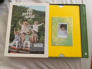 BTS Official 2017 Summer Package