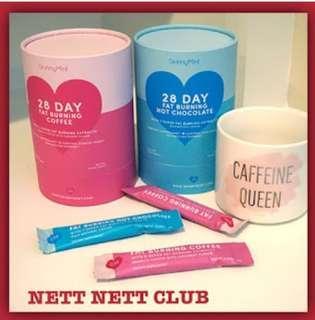 🚚 $99.90 bundle- SkinnyMint 28 Day Fat Burning Bundle Coffee / Hot Chocolate