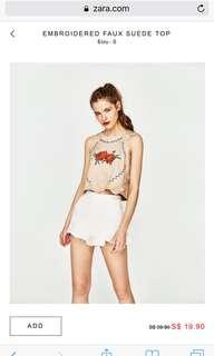 🚚 Zara floral top