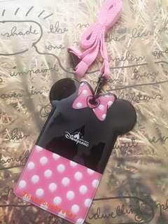Authentic Disneyland x Standard Chartered My dream account  Minnie ID Holder Card Holder Octopus Holder 正品迪士尼米妮證件套 八達通套 職員證套 圖書證套 飯卡套