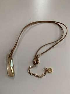 黃水晶頸鏈