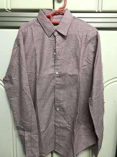 Pink shirt 100% cotton