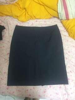 Dark Blue Office Skirt #APR10