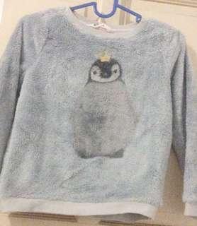 Sweater H&M bulu Unisex 4-7YO